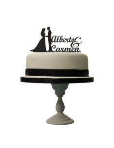 Topper para tarta de boda