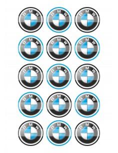 Papel de azúcar BMW