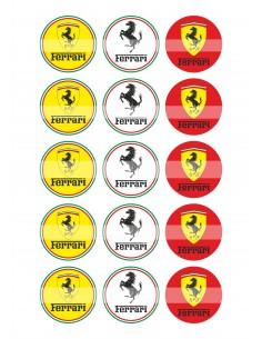 Papel de azúcar Ferrari