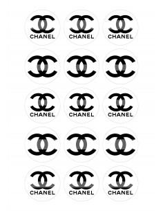 Papel de azúcar Chanel