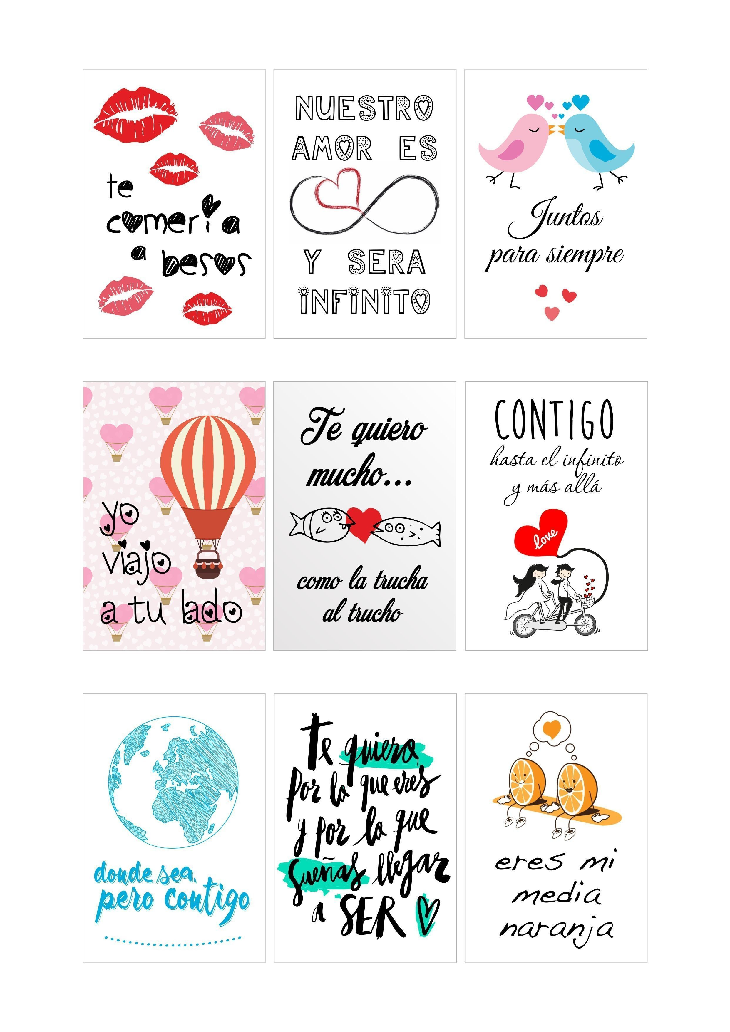 Papel De Azucar Frases Amor Galletas San Valentin Cupcakes