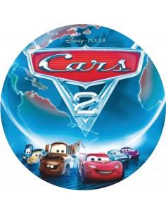 Papel de azúcar pesonajes Cars 2