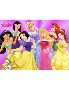 Papel de azúcar Princesas Disney