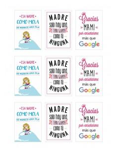 Papel de azúcar frases Día de la Madre