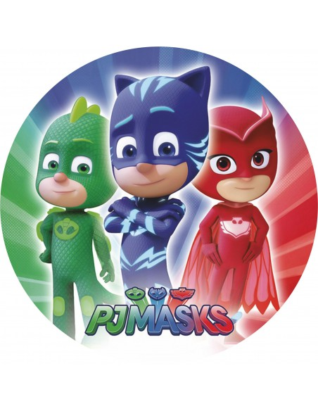 Papel de azúcar PJ Masks 1
