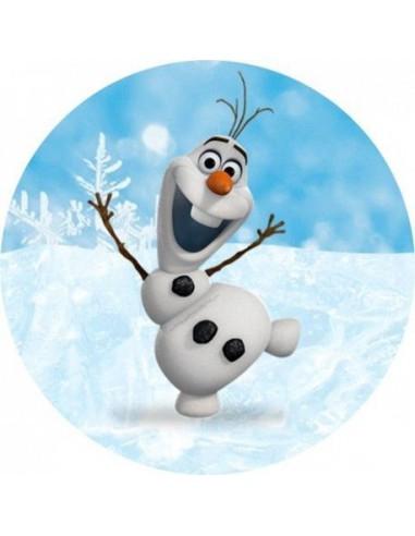 Papel De Azucar Olaf Frozen