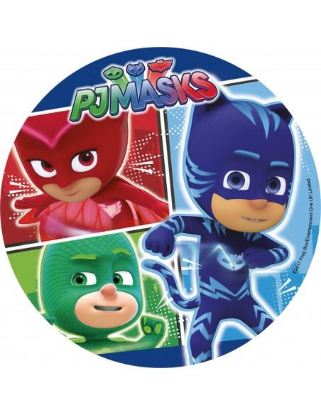 Papel de azúcar PJ Masks 2
