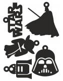 Set adornos star wars