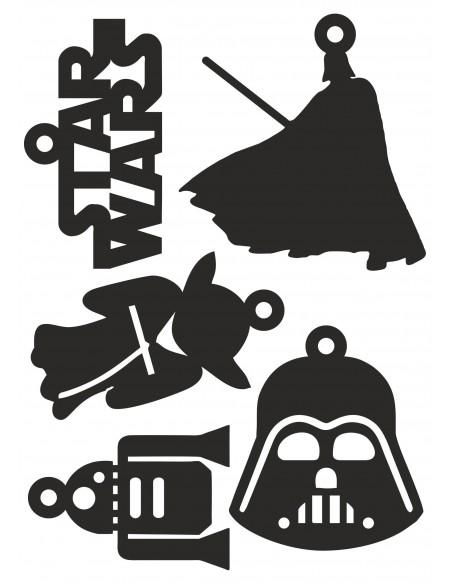 Adornos Star Wars para el arbol navideño