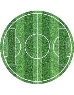 Papel de azúcar campo de futbol