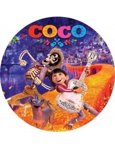 Papel de azúcar película Coco