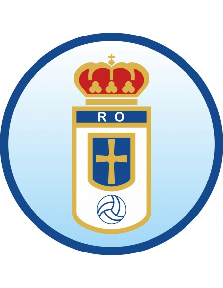 Papel de azúcar escudo Real Oviedo