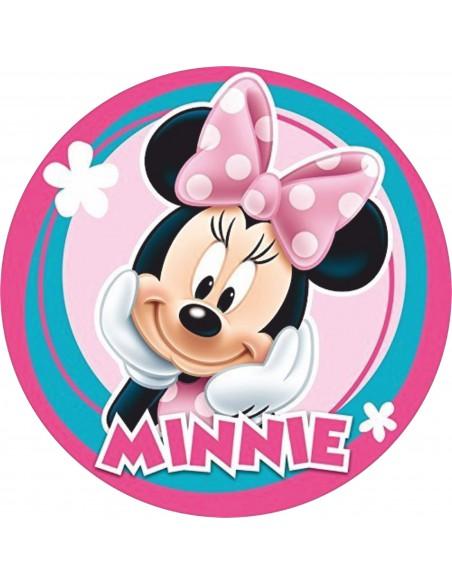 Papel de azúcar para tarta Minnie