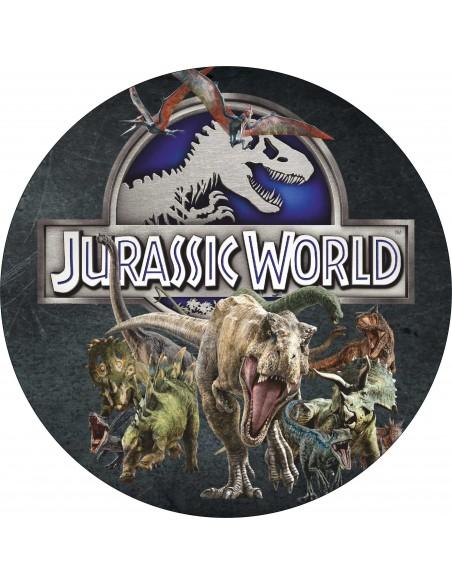 Papel de azúcar Jurassic World