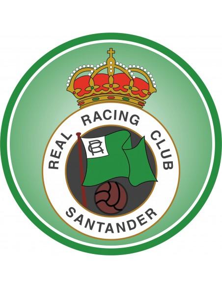 Papel de azúcar escudo Racing Santander