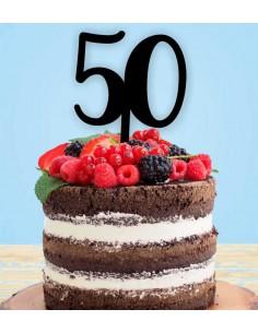 Topper tarta Números