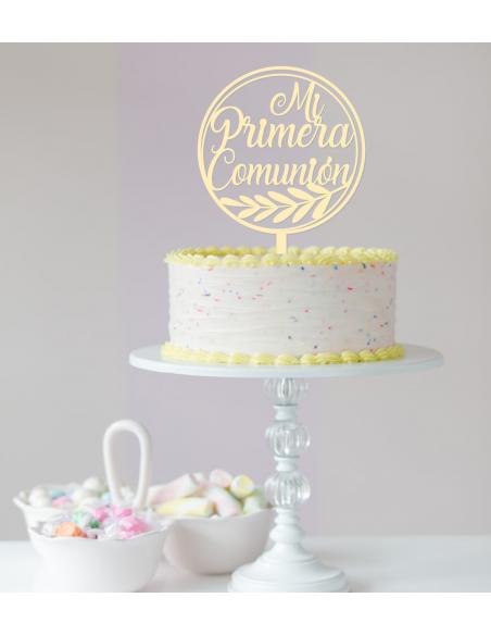 Topper para tarta primera comunión