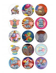 Papel de azúcar galletas Dumbo