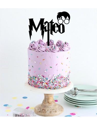 Topper tarta Harry Potter personalizado
