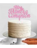 Topper para tarta mi primera comunión