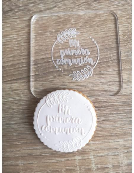 Sello para galletas Comunión