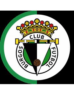 Papel de azúcar escudo Burgos CF