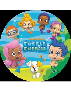 Papel de azúcar Bubble Guppies