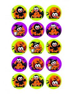 Papel de azúcar Vampiros Halloween para galletas