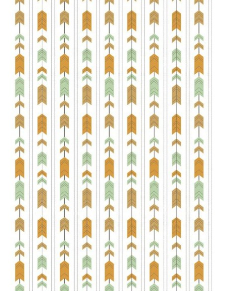 Papel de azúcar flechas aztecas