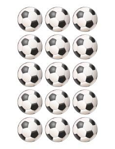Papel de azúcar balones futbol