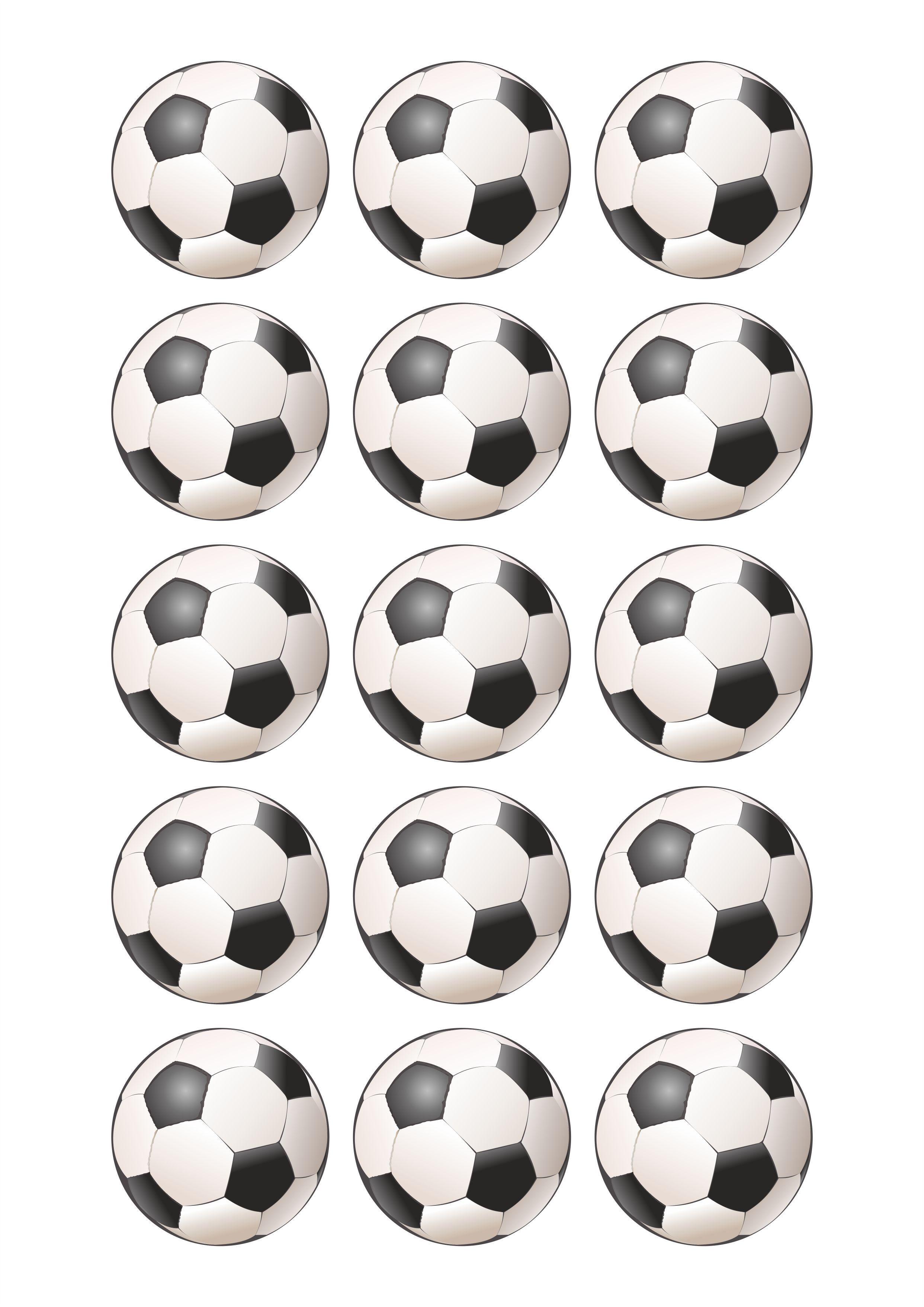 Papel De Azucar Balones Futbol