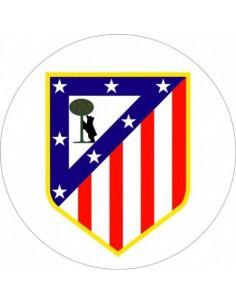 Papel de azúcar escudo Atlético de Madrid
